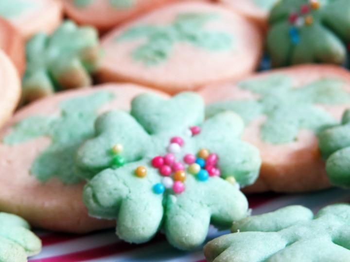 St Patrick Cookies Closeup