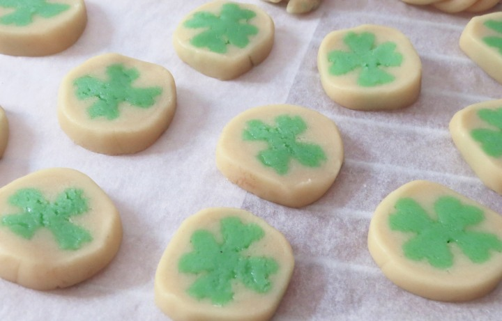 St Patrick Cookies Cut