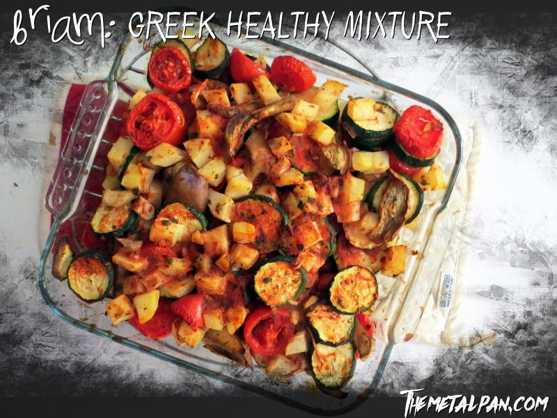 Briam Greek Healthy Mixture