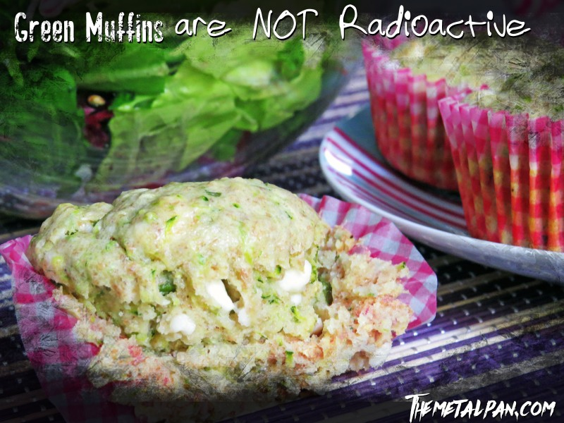 Green Muffins are not Radioactive